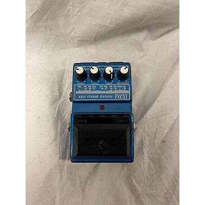DOD FX63 Deep Freeze Bass Stereo Chorus Effect Pedal