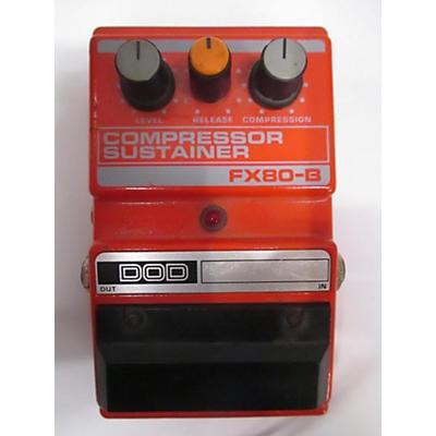 DOD FX80B Compressor Sustainer Effect Pedal