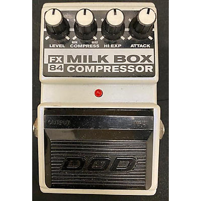 DOD FX84 Milk Box Compressor Effect Pedal