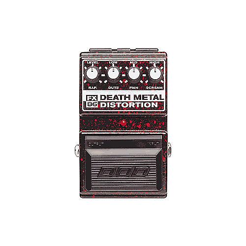 FX86 Death Metal Distortion Pedal