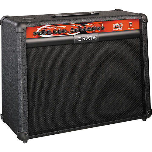 crate fxt120 guitar combo amp with dsp musician 39 s friend. Black Bedroom Furniture Sets. Home Design Ideas