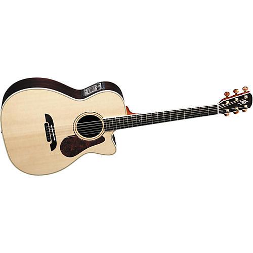 Alvarez FYM95C Aura Cutaway OM Folk Acoustic-Electric Guitar