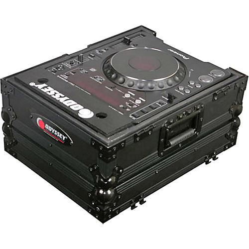 Odyssey FZCDJBL ATA Black Label Coffin for CD Players