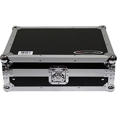 "Odyssey FZGS12MX1XD Flight Zone Low Profile Glide Style Series Universal 12"" Format DJ Mixer Case"