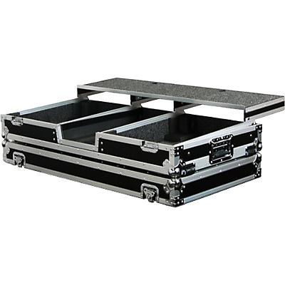 "Odyssey FZGSPBM10W Remixer Turntable DJ Coffin Case 10"""