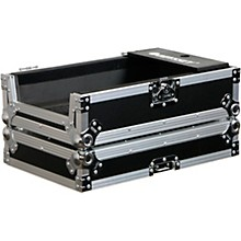 Odyssey FZGSPBM10WBL Universal Turntable DJ Coffin with Wheels