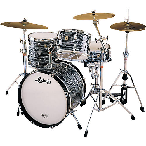 ludwig fab 4 classic maple drum set with 20 kick musician 39 s friend. Black Bedroom Furniture Sets. Home Design Ideas