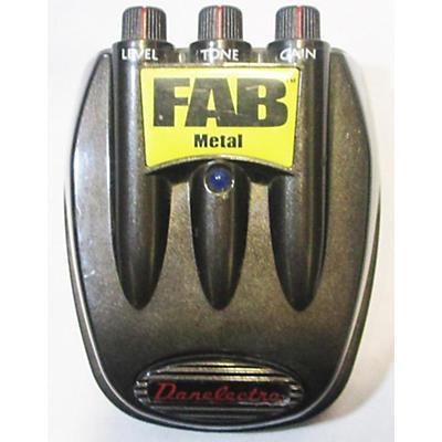 Danelectro Fab Metal Distortion Effect Pedal