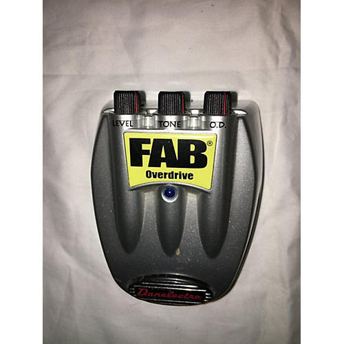 Fab Overdrive Effect Pedal