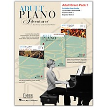 Faber Piano Adventures Faber Adult Piano Adventures Level 1 Bravo Pack