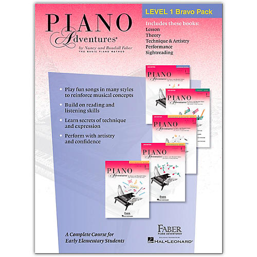 Faber Piano Adventures Faber Piano Adventures Level 1 Bravo Pack - The Basic Piano Method