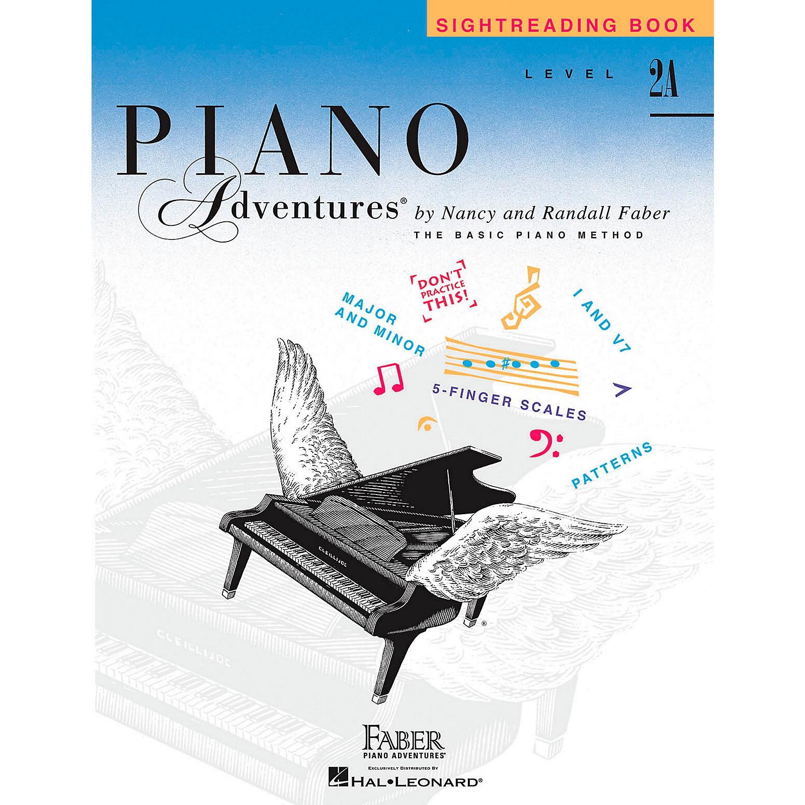 Faber Piano Adventures Faber Piano Adventures Sightreading Book Level 2A