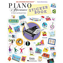 Faber Piano Adventures Faber Piano Adventures Sticker Book