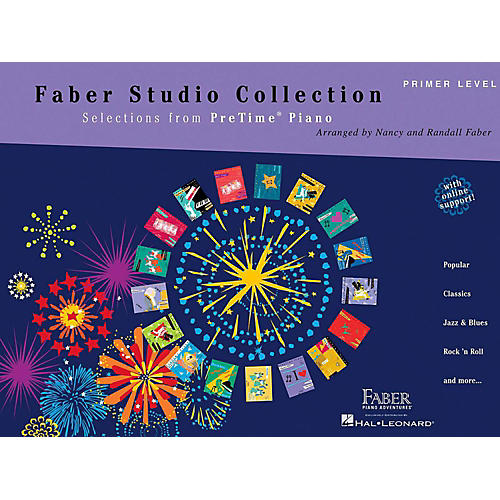 Faber Piano Adventures Faber Studio Collection - Selections from PreTime Piano Primer Level