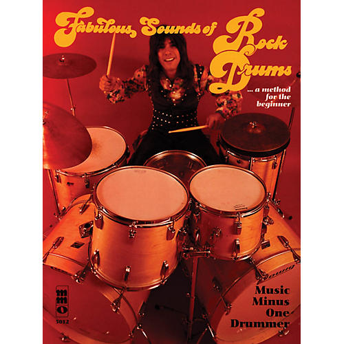 Music Minus One Fabulous Sounds of Rock Drums Music Minus One Series Softcover with CD Performed by Mike Ricciardella