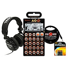 Teenage Engineering Factory Pocket Operator with Batteries, Headphones and Cable