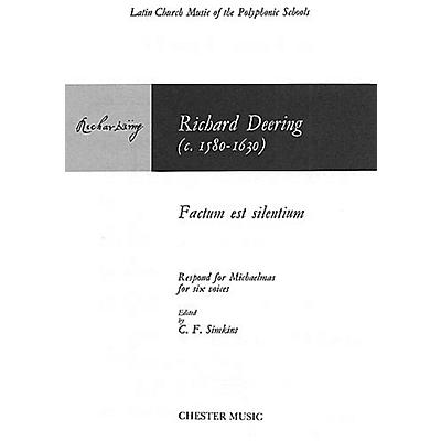 Chester Music Factum est Silentium SSATTB Composed by Richard Dering Arranged by C. F. Simkins