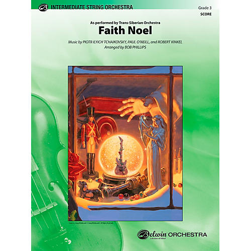 Alfred Faith Noel String Orchestra Grade 3 Set