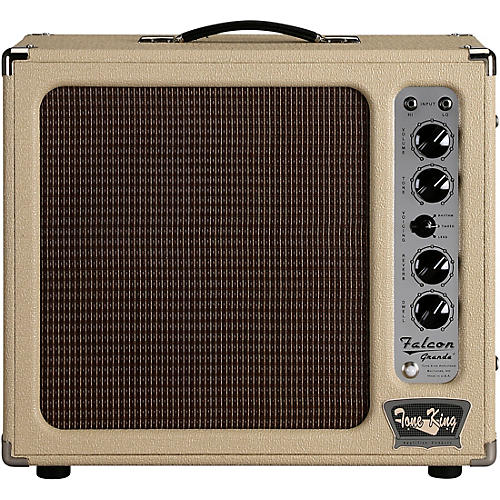 Tone King Falcon Grande 20W 1x12 Tube Guitar Combo Amp Cream