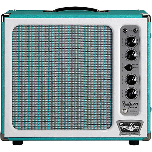 Tone King Falcon Grande 20W 1x12 Tube Guitar Combo Amp Condition 1 - Mint Turquoise