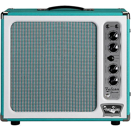 Tone King Falcon Grande 20W 1x12 Tube Guitar Combo Amp Turquoise