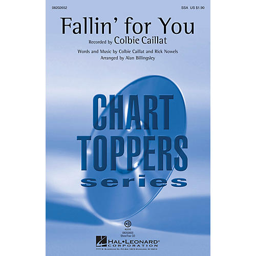 Hal Leonard Fallin' for You ShowTrax CD by Colbie Caillat Arranged by Alan Billingsley