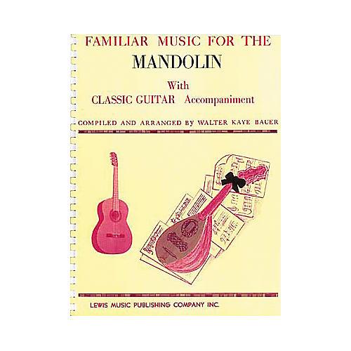 Ashley Mark Familiar Music For the Mandolin Book