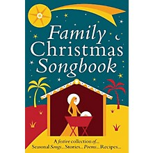 Music Sales Family Christmas Songbook Music Sales America Series Softcover Written by Heather Ramage