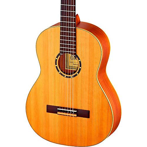 Ortega Family Series Pro R131L Left-Handed Classical Guitar Satin Natural