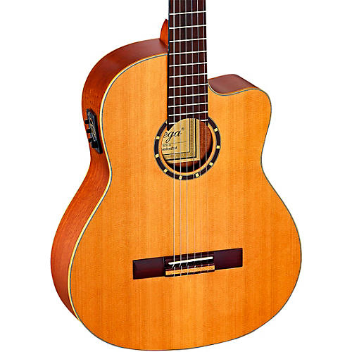Ortega Family Series Pro RCE131 Acoustic-Electric Classical Guitar