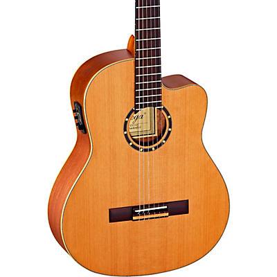 Ortega Family Series Pro RCE131 Acoustic-Electric Slim Neck Nylon String Guitar