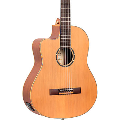 Ortega Family Series Pro RCE131SN-L Acoustic Electric Slim Neck Classical Guitar