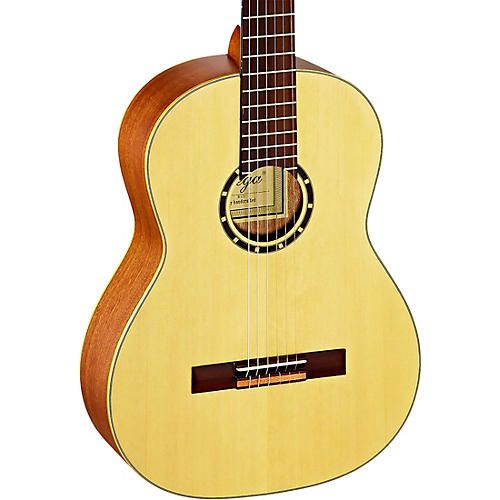 Ortega Family Series R121 Full-Size Nylon-String Guitar Natural Matte