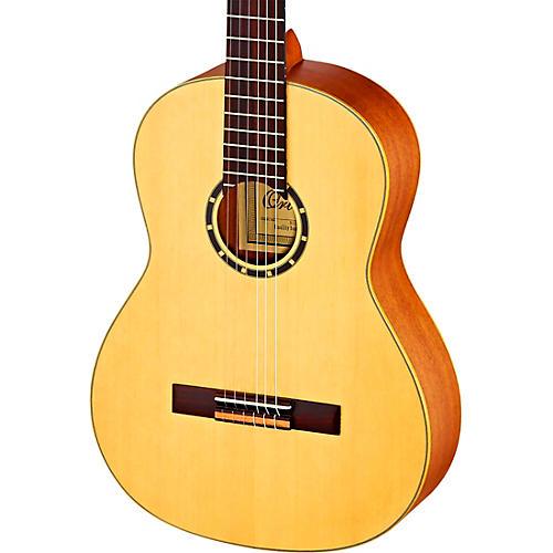 Ortega Family Series R121L Left-Handed Classical Guitar Satin Natural