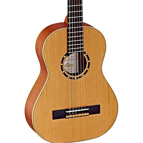 Ortega Family Series R122-1/2 1/2 Size Classical Guitar Satin Natural 0.5