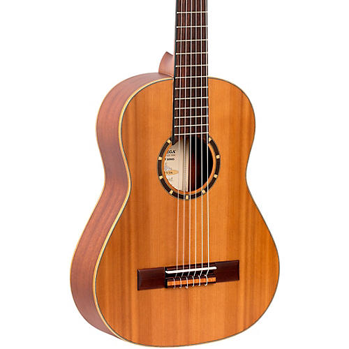 Ortega Family Series R122-1/2-L Classical Guitar Natural Matte 1/2 Size