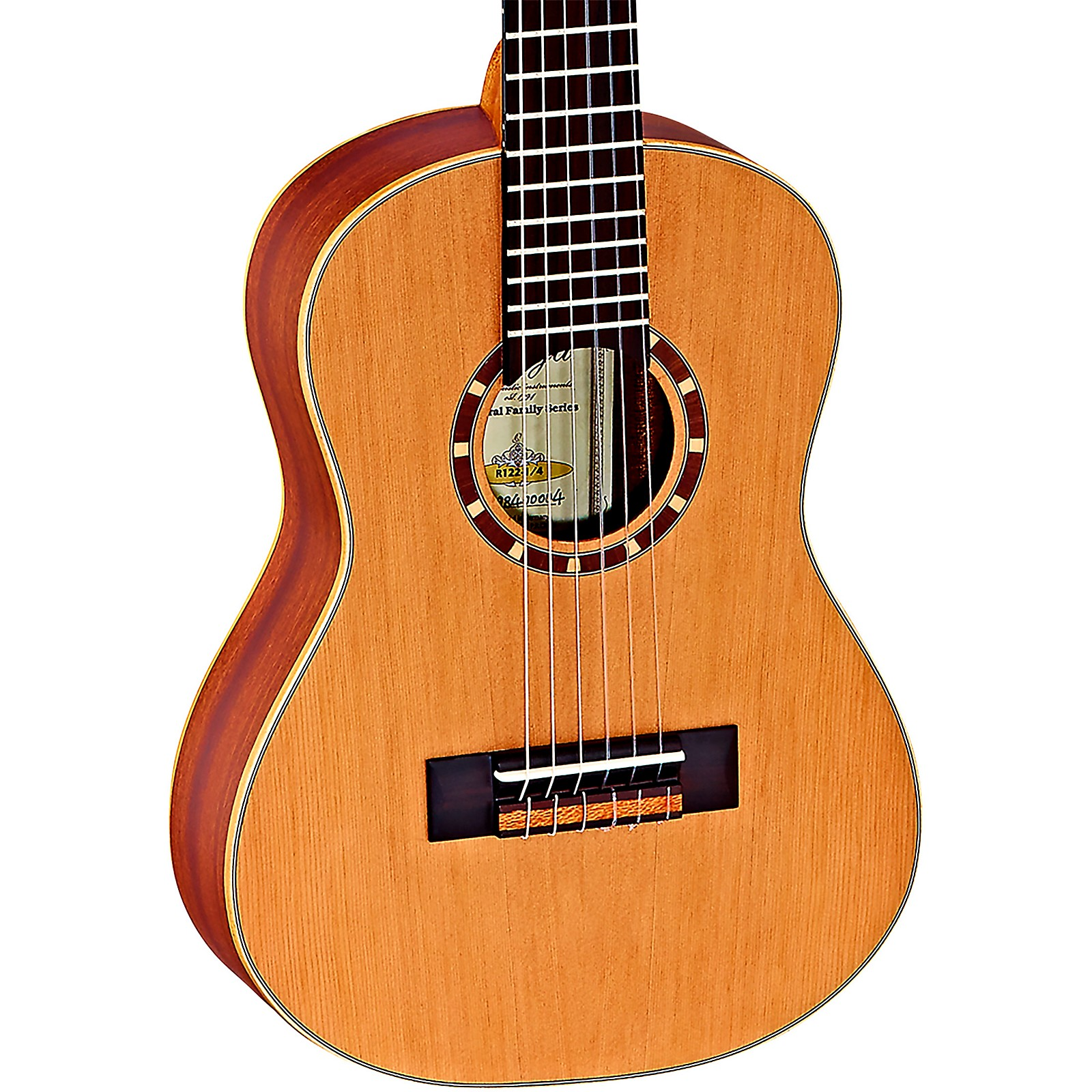 Ortega Family Series R122-1/4 1/4 Size Classical Guitar