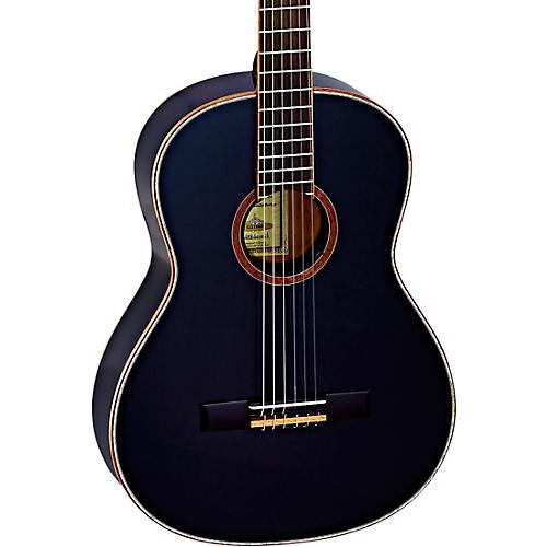 Ortega Family Series R221SNBK Slim Neck Classical Guitar Gloss Black