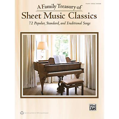 Alfred Family Treasury of Sheet Music Classics Book