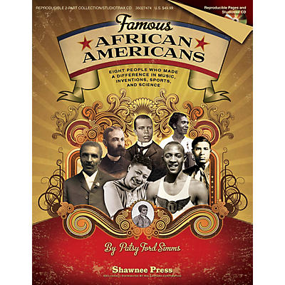 Shawnee Press Famous African Americans REPRO COLLECT UNIS BOOK/CD Composed by Patsy Ford Simms