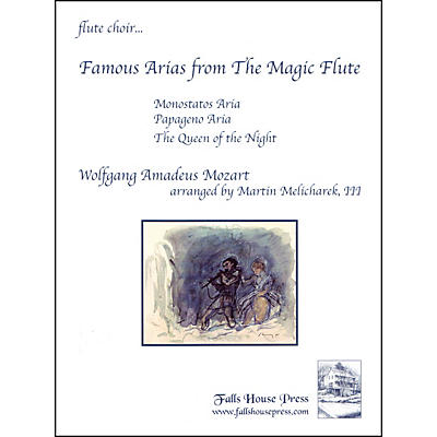 Carl Fischer Famous Arias from the Magic Flute Book