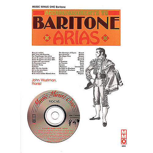 Music Minus One Famous Baritone Arias Music Minus One Series Softcover with CD  by Various
