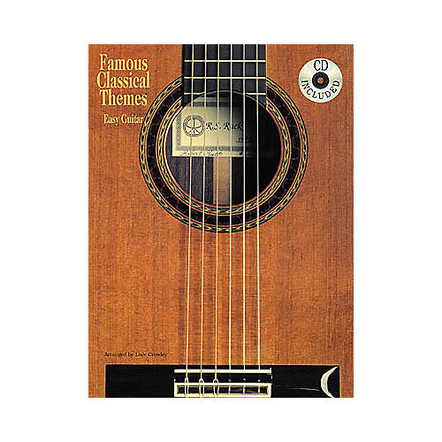 Creative Concepts Famous Classical Themes for Easy Guitar Book