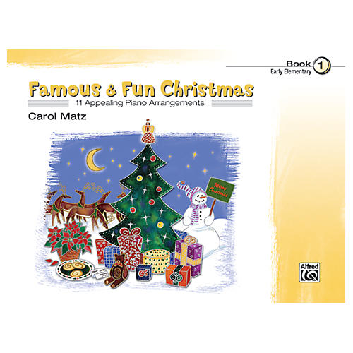 Alfred Famous & Fun Christmas Book 1