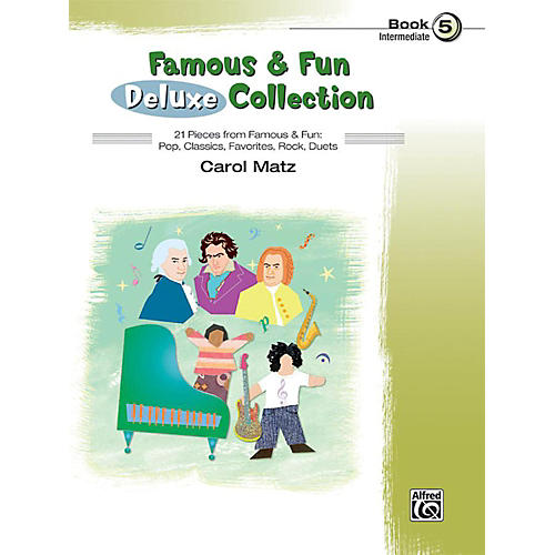 Alfred Famous & Fun Deluxe Collection Intermediate Book 5