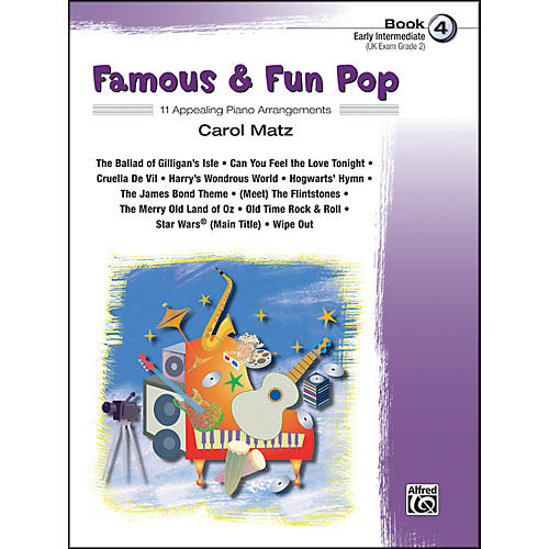 Alfred Famous & Fun Pop Book 4