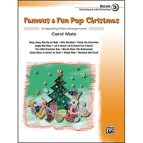 Alfred Famous & Fun Pop Christmas Book 3