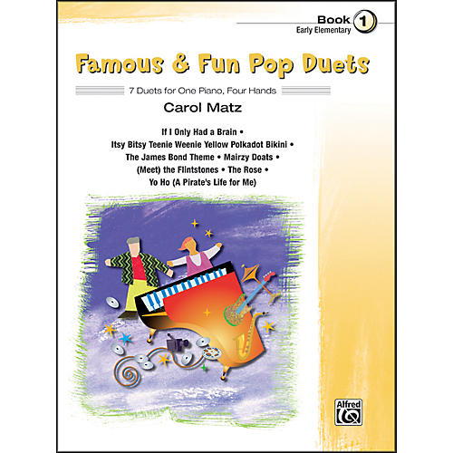 Alfred Famous & Fun Pop Duets Book 1