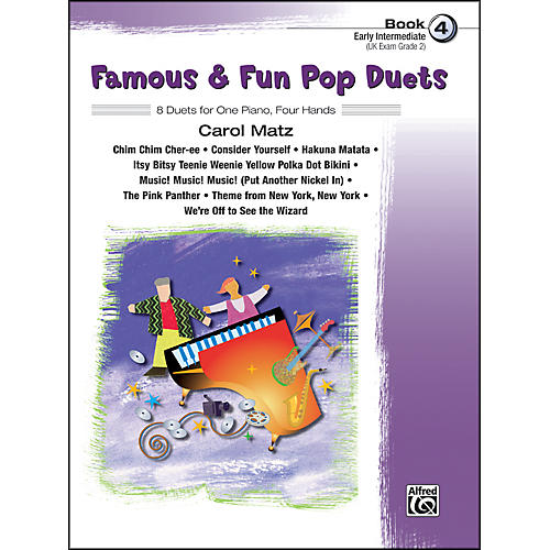 Alfred Famous & Fun Pop Duets Book 4 Book 4