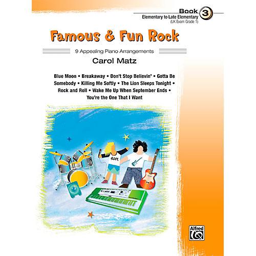 Alfred Famous & Fun Rock, Book 3
